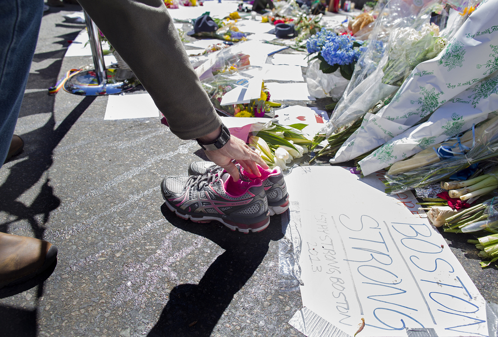 Mourning turned into a manhunt during a tense 24 hours after Boston Marathon bombing 2013.
