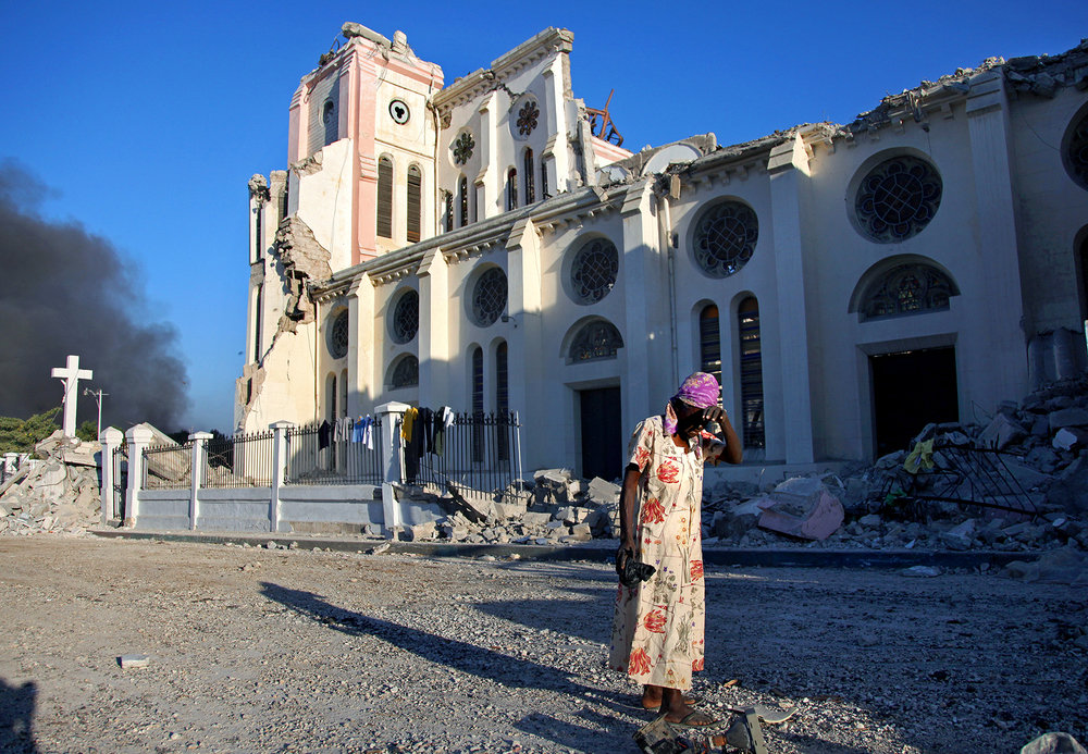 Images from 2010 earthquake, Port-au-Prince, Haiti