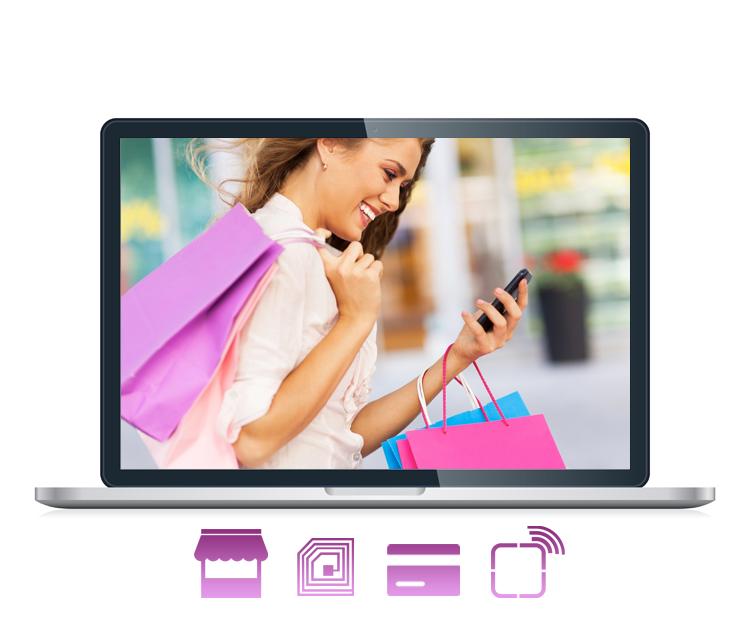Application d'achat self service pour des boutiques #retail #RFID #FlexAir #NFC #inStore