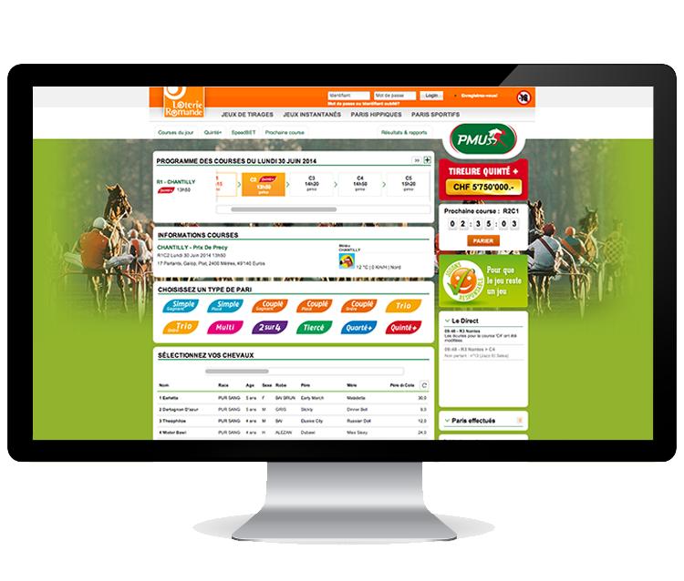 Loterie Romande - Design & accompagnement digital   #design #ergonomie #userExpérience #simplelab