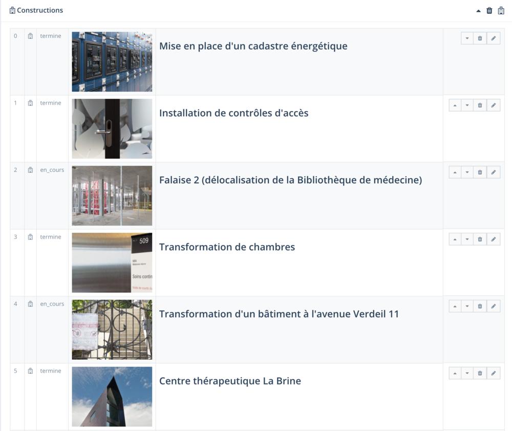 Accès à la saisie de collection de manière simplifiée avec saisie des images miniatures ainsi que des textes méta et du contenu pour créer les fiches