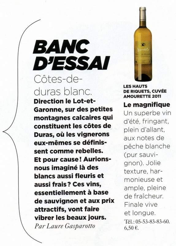 Amourette Article Le Monde