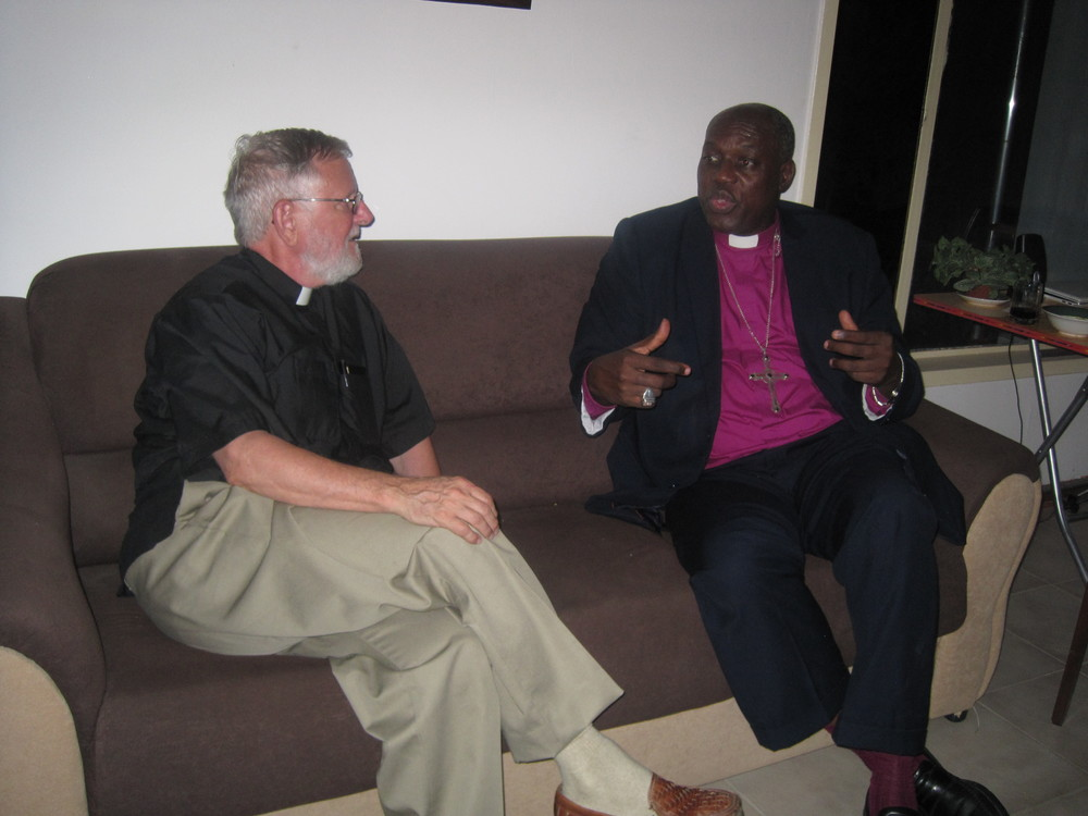 Archbishop of West Africa and Bishop of the Gambia Tilewa Johnson