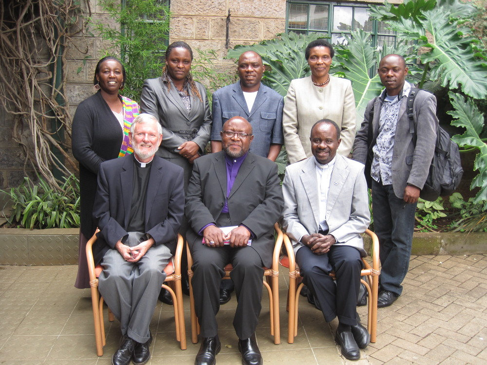 At the Anitepam negotiations in Nairobi, 2012