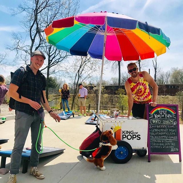 What's better than local, handmade ATL @kingofpops with local, handmade ATL @surepawdoggear leashes! 2019 @beltgrind was a stupendous event and did not disappoint. So much energy this year and already can't wait for 2020. This is the 2nd year @surepawdoggear has supported the grind, and we will see you again next year! Until then pup needs a pop and a break. #beltgrind #weloveatl #dogsofinstagram #beltline #upcycle #dogleash #fakedog #sunsoutpupsout