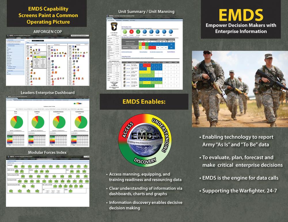 EMDS Tri-fold