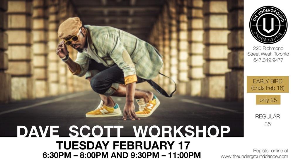 Dave Scott Poster