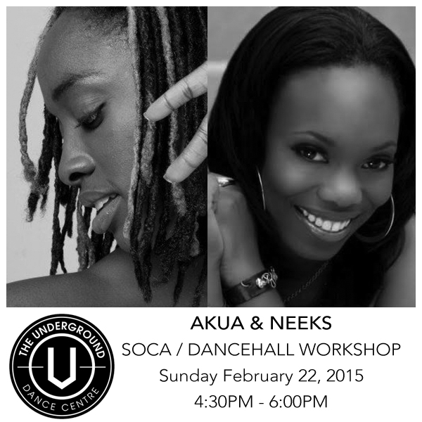 Akua & Neeks Soca / Dancehall Workshop
