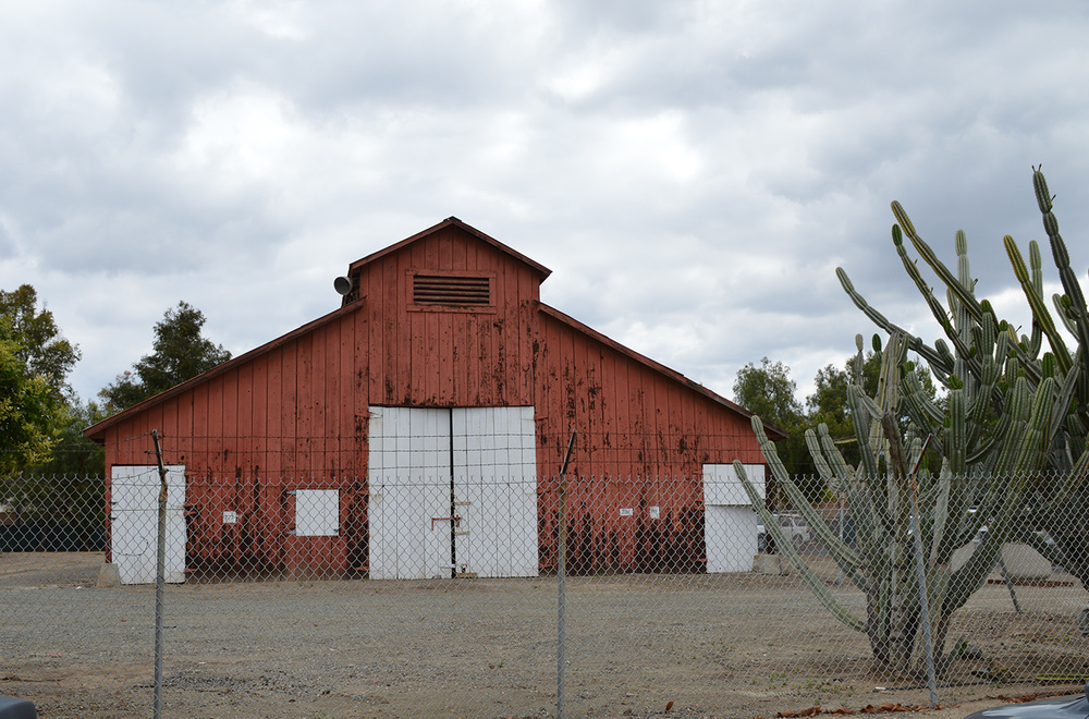 Barn at the Irvine Family Ranch, Irvine *