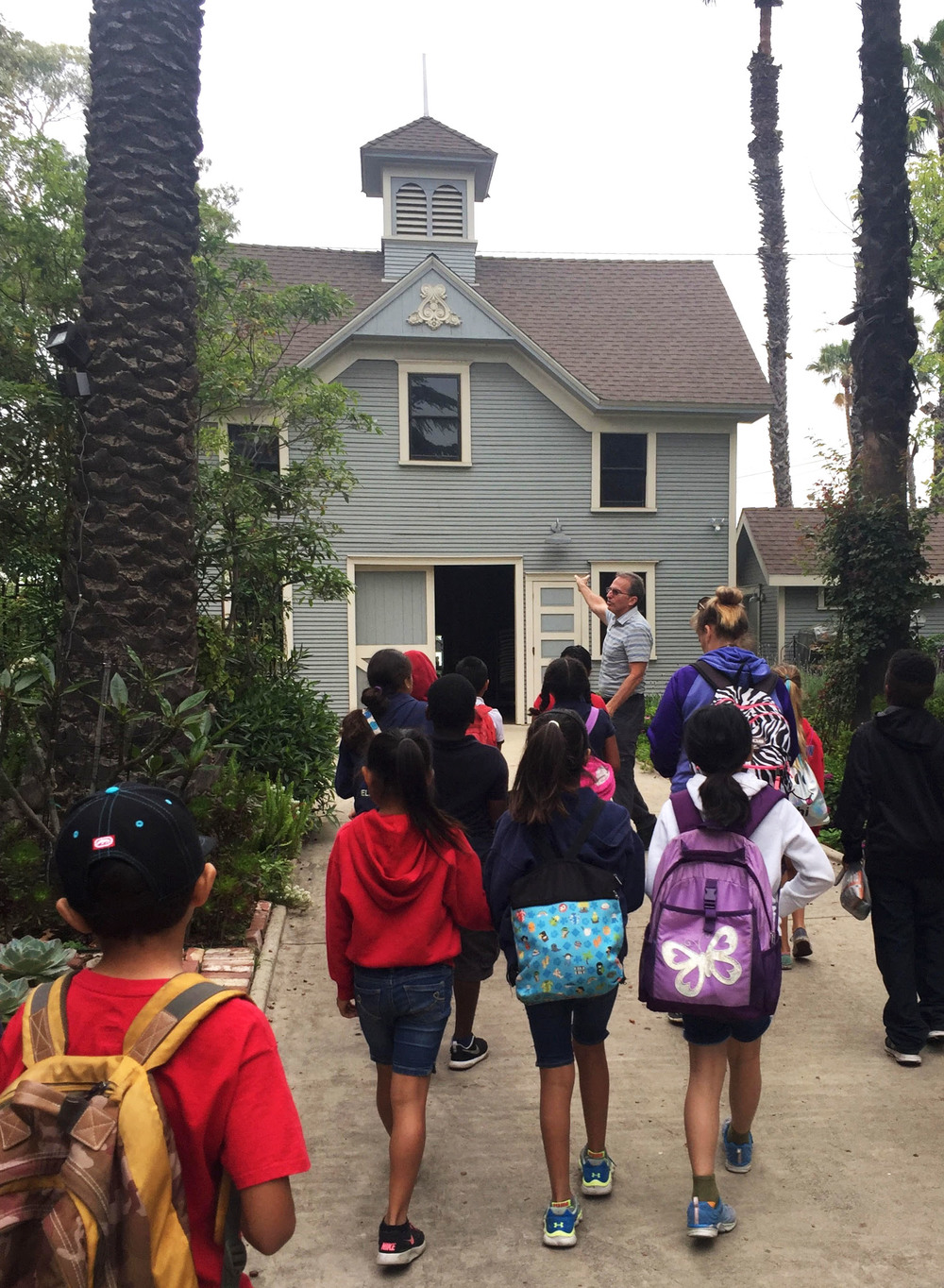Children explore the historic Bembridge House Museum in Downtown Long Beach, photo by We Are the Next.