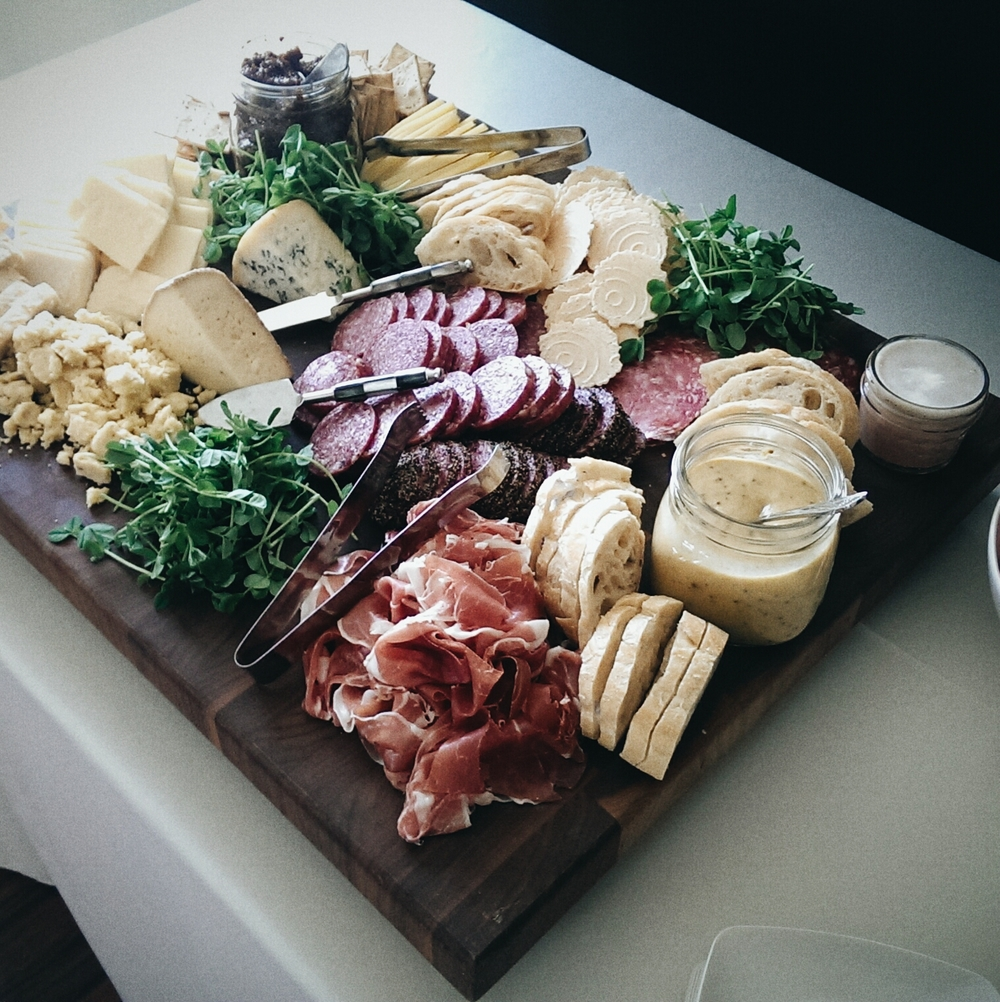 Lancaster County Meat and Cheese Board