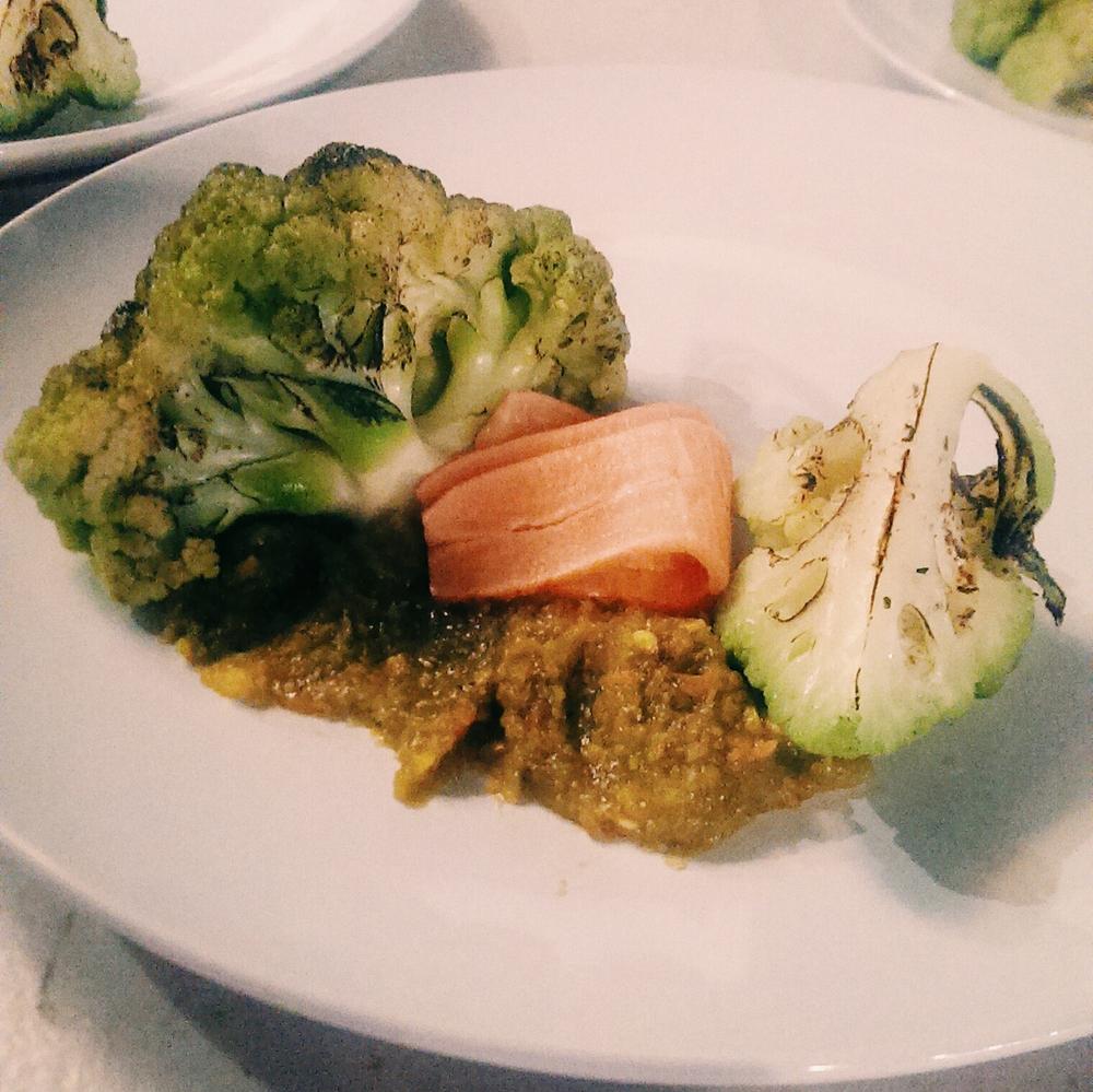 Cauliflower / Falafel Entree