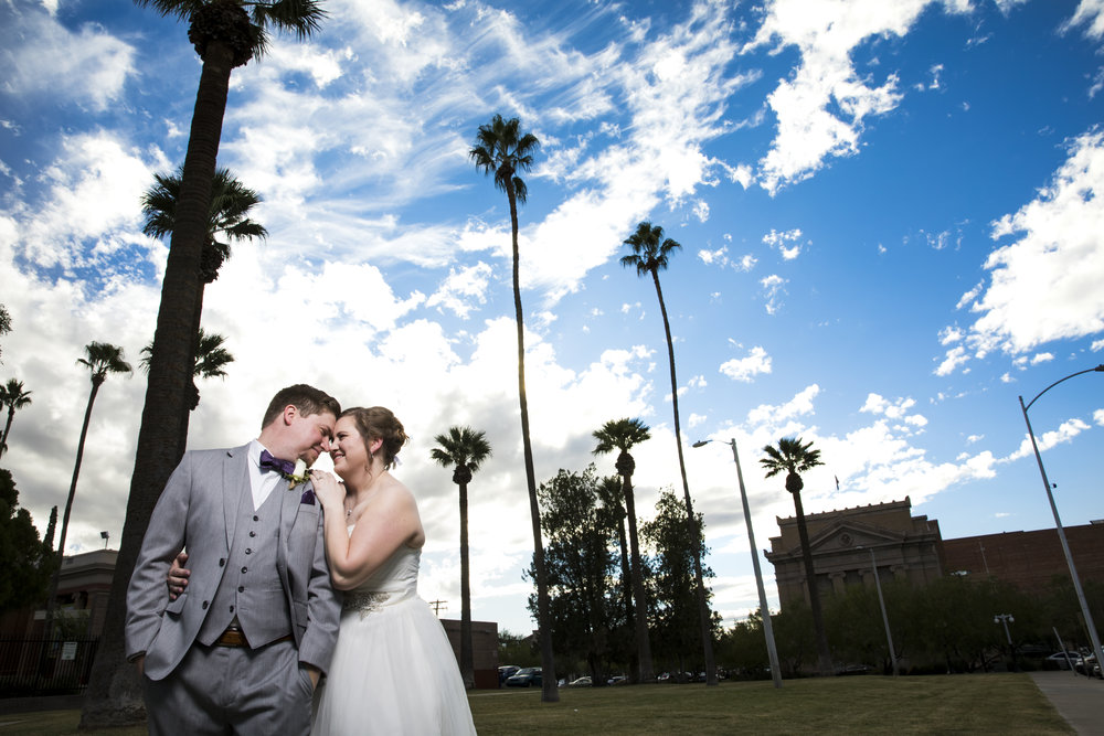 The Gawnes Photography  - Laurel and Tim's Wedding at Stillwell House & Garden Downtown Tucson,AZ