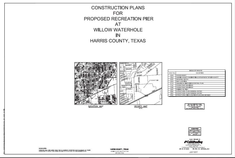 Pier Design Plans  (PDF)