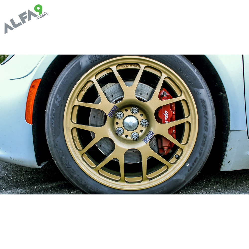 Braid wheels Alfa Romeo 4C