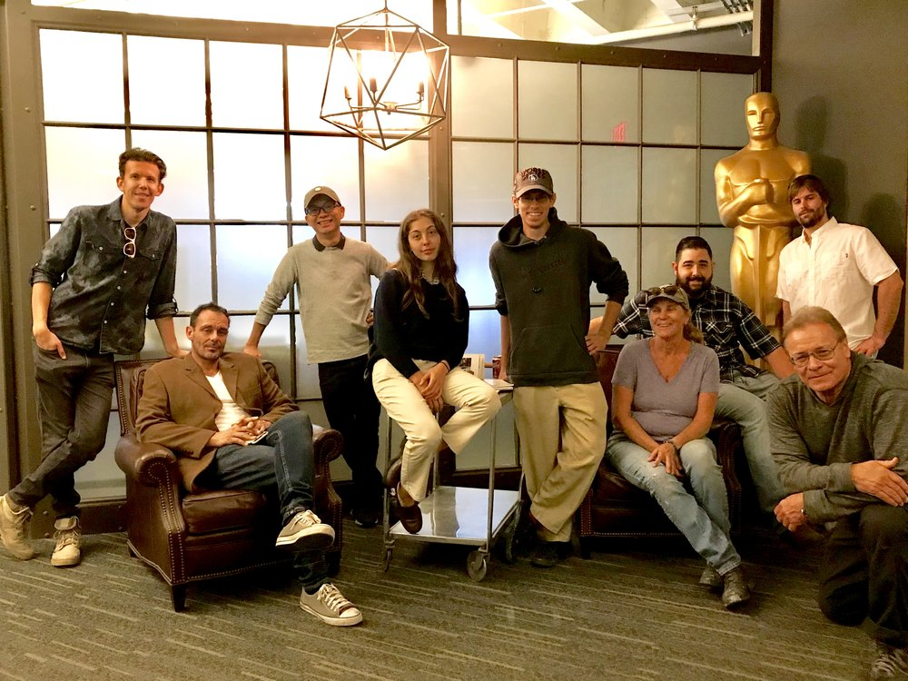 From left to right:    Maxwell Morrow, Justin Mulcahy, Stanley Chen, Noa Rosenberg, Logan Adams, Eleanor Goodall, Jonathan Theriault, John Skinner, and Ron Vallejo.