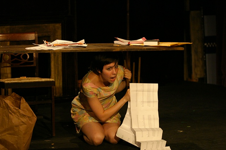 A is for Aardvark, by Jess Lacher // New York Fringe Festival, 2004