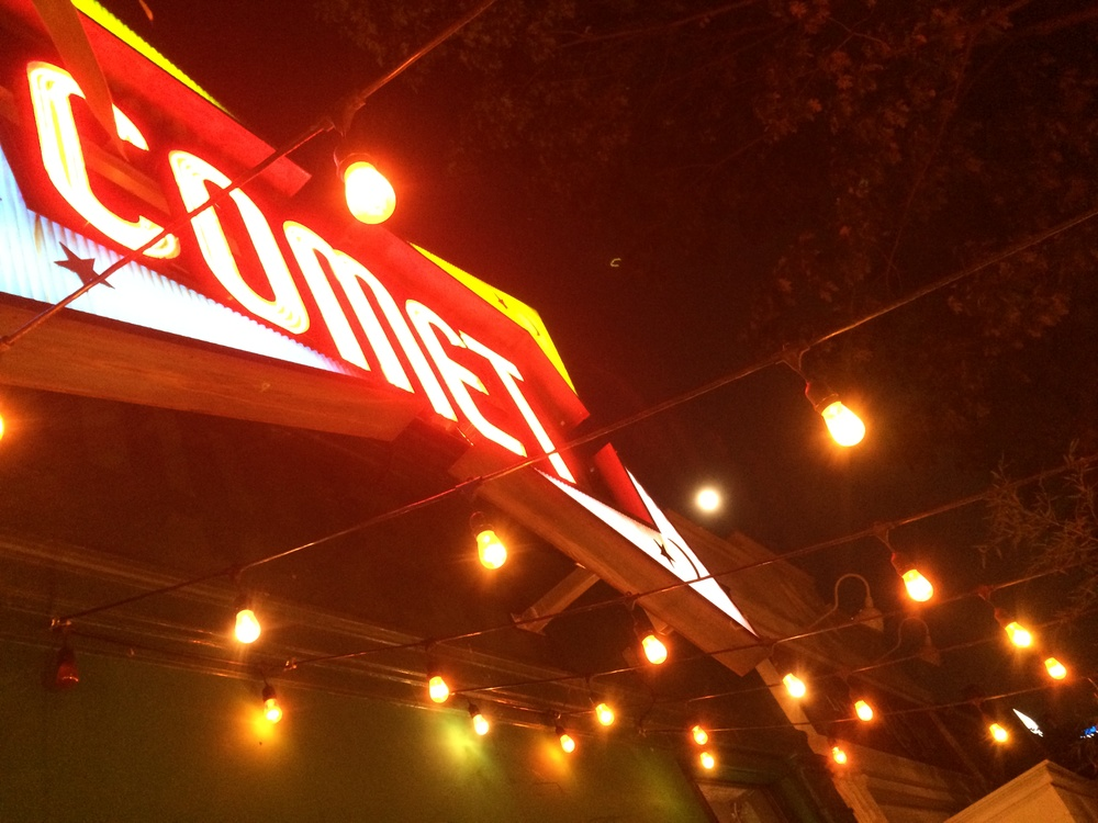 Comet Ping Pong and Super Moon July 10th, 2014