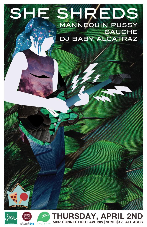Poster via Sophie McTear Design