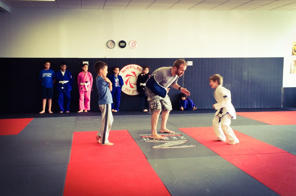 Kids' classes on Monday and Wednesday 5pm, Saturday 10am