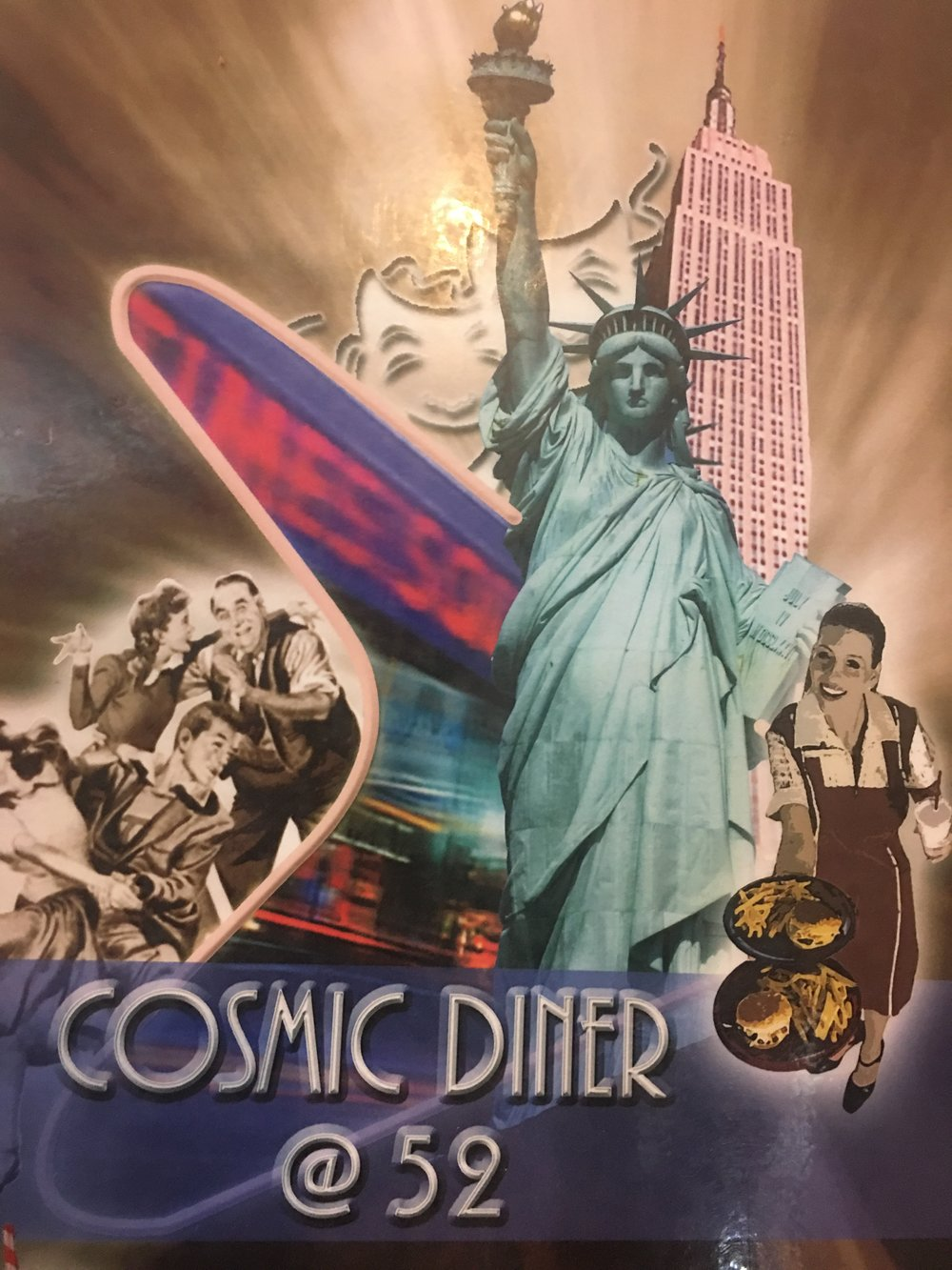 Cosmic Diner Times Square