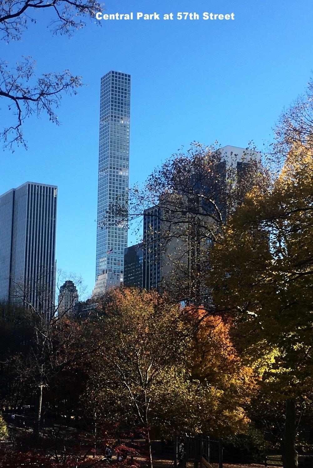 Central park 57th Street