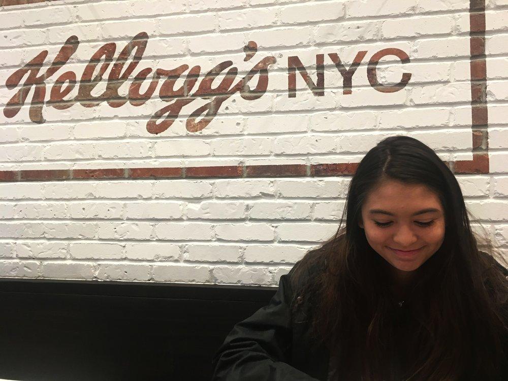 Kellogg Times Square NYC