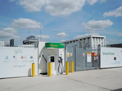Air Products hydrogen fueling station