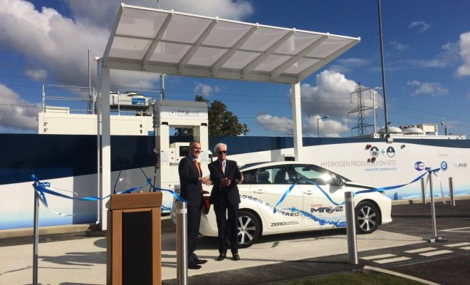 ITM Power Ceme hydrogen station opening ceremony
