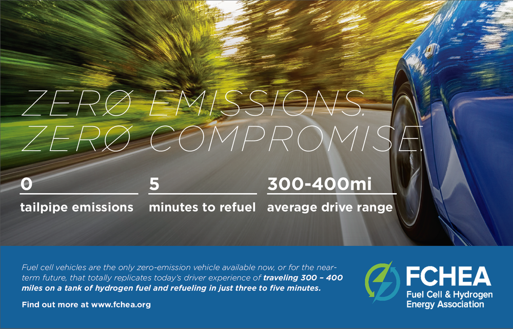 FCHEA's Zero Emissions. Zero Compromise. ad featured in the NASEO Annual Meeting Program