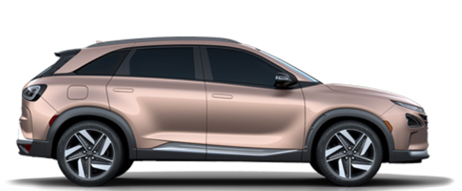 The 2019 Hyundai NEXO Fuel Cell SUV (available today in South Korea and Europe, coming to North America in late 2018).