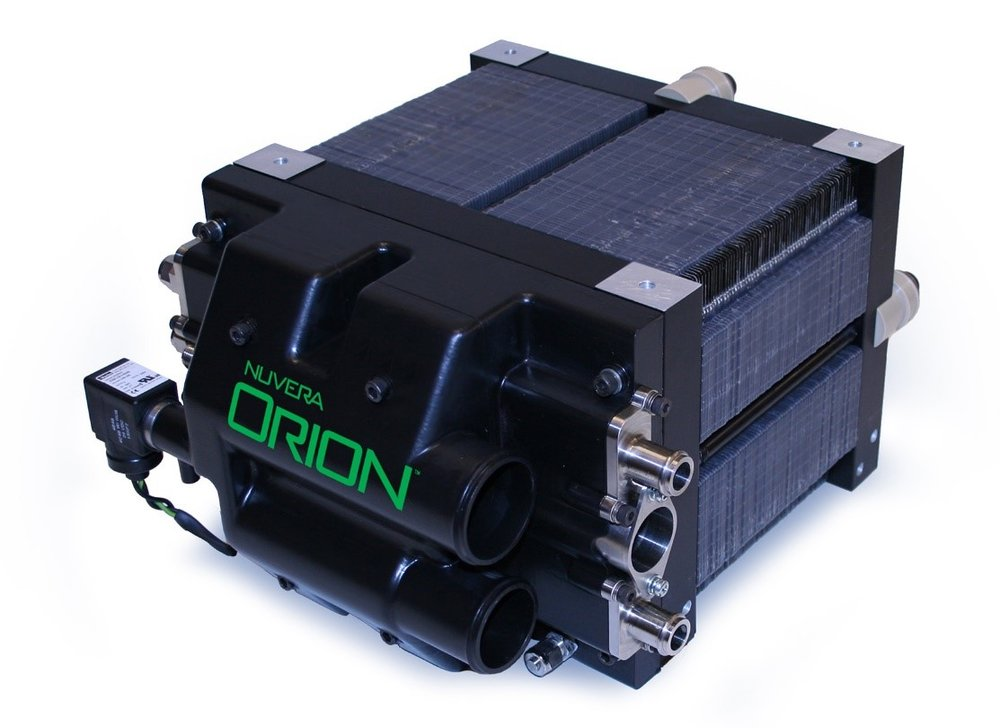 Nuvera's Orion fuel cell stack was used to power TRUs in the PNNL project. Source:  https://www.pnnl.gov/news/release.aspx?id=1005