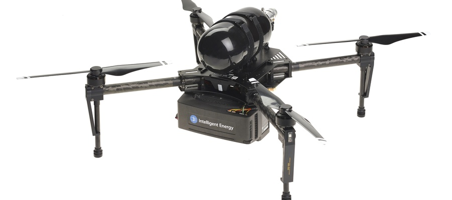 Intelligent Energy's 650W multicopter UAV model. Source: Intelligent Energy