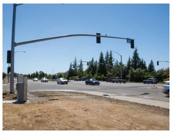 TSP deployment (bottom left) in Folsom, California. Source: Altergy
