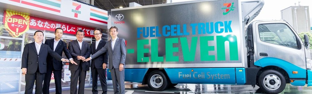 Toyota fuel cell truck for 7-Eleven operations. Source: Toyota