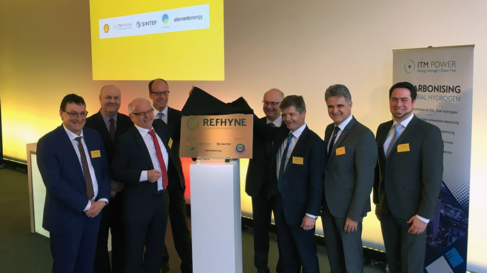 Shell and ITM Power announce plans for the world's largest electrolysis plant. Source: ITM Power.