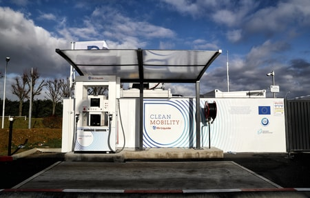 Paris-Orly International Airport hydrogen refueling station. Source: Fuel Cells and Hydrogen Joint Undertaking