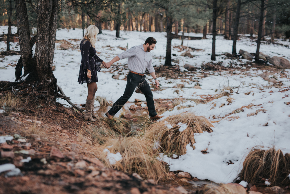 Briana + Logan | Payson Engagement
