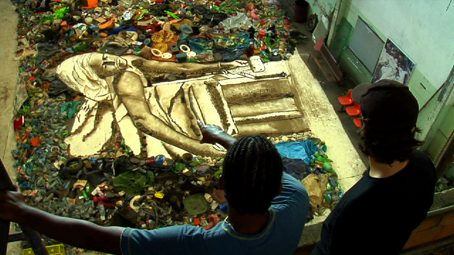 Vik Muniz. Pictures of Garbage (in process)