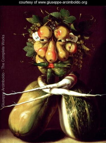 Guiseppe Arcimboldo (Whimsical portrait)