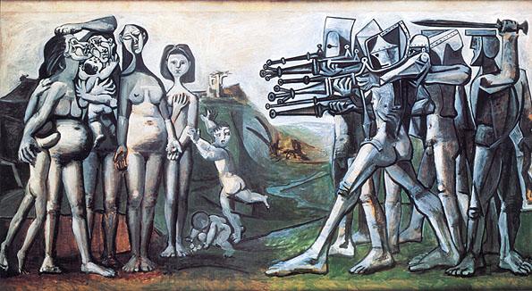 Picasso - Massacre in Korea