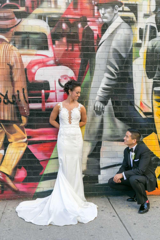 Wedding @ the High line NYC