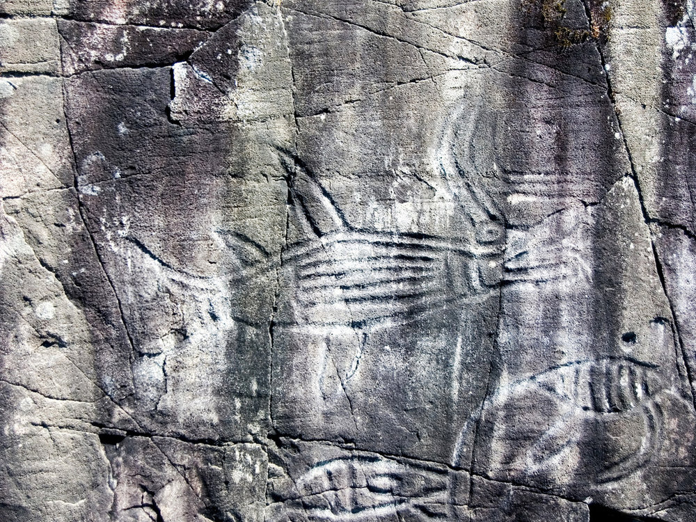 PETROGLYPHS - SPROAT LAKE PROV. PARK