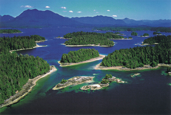 BROKEN ISLANDS, BC