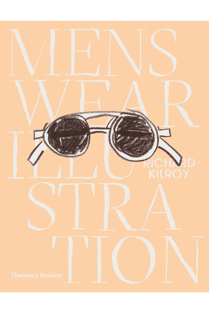 "Richard Haines illustrated the cover of ""Menswear Illustration"""