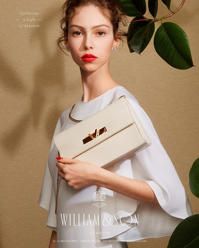 @williamandson SS17 campaign with nails by @trishlomax #JedRoot