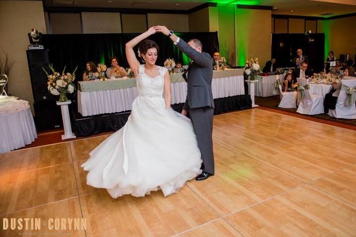 Copyrighted Dustin & Corynn Wedding Photography