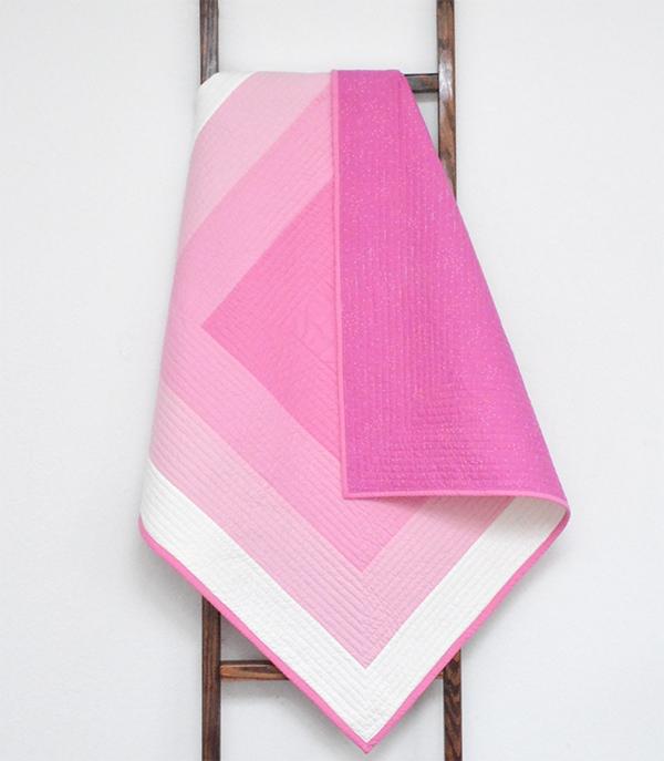 Initial K Studio Baby Quilt