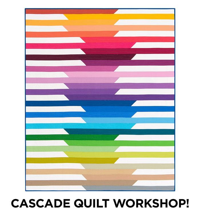 Initial K Studio Cascade Quilt