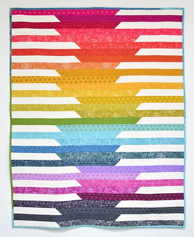 Initial K Studio Sun Prints Cascade Quilt